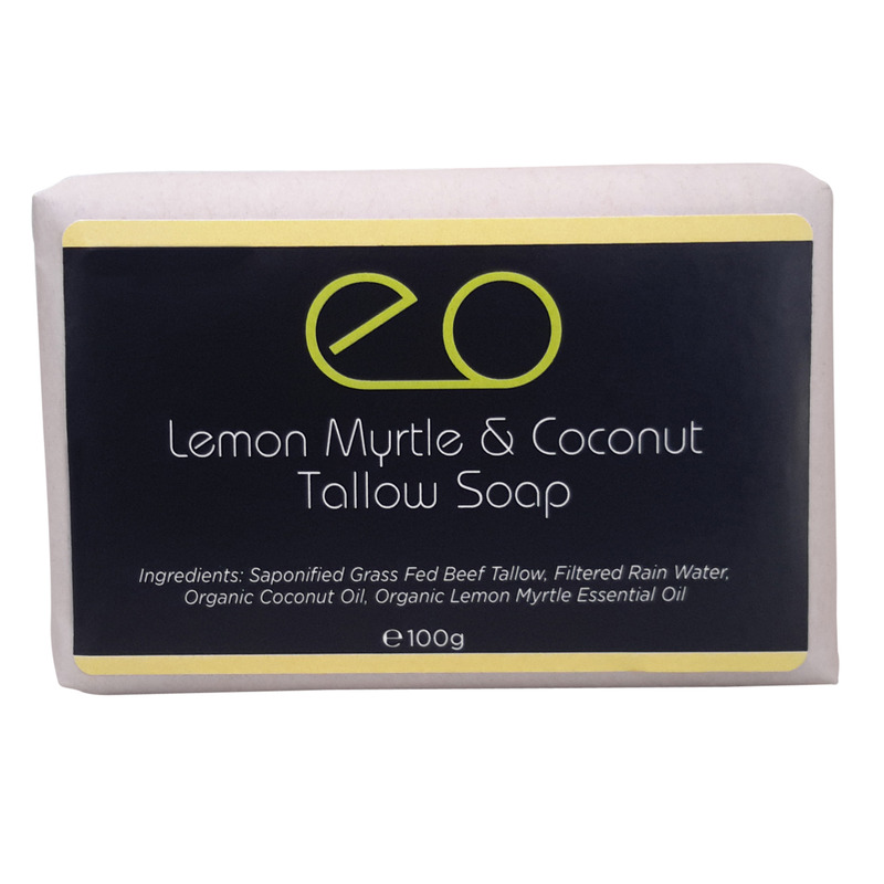 Lemon Myrtle & Coconut Tallow Soap